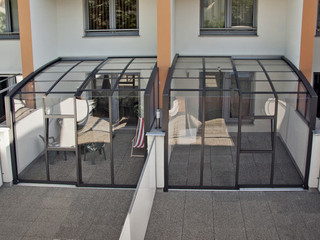 CORSO Premium patio enclosure in the back of appartment - extend your living space with patio enclosure