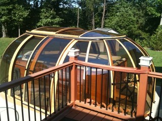Custom made hot tub enclosure for Ralph B. from Maryland