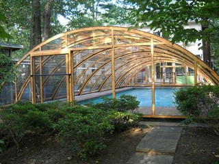 Custom made pool enclosure for Jennifer from Northern Virginia