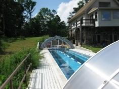 Custom made pool enclosure for Leon from Alabama