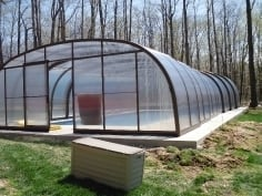 Custom made pool enclosure for Louise and Ron from Ohio