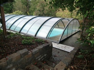 Custom made pool enclosure for Pat from Edmond WA
