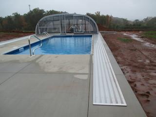 Custom made pool enclosure Laguna