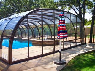 Front wall of pool enclosure Laguna