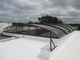 Horeca enclosure Elegant on the roof top