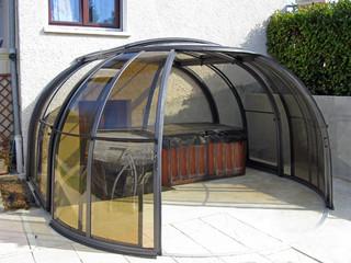 Hot tub enclosure OASIS by Pool and Spa Enclosures USA & Hot tub enclosure Oasis galleries - retractable hot tub enclosure ...