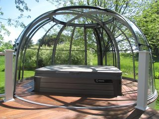 Hot tub enclosure Spa Dome Orlando