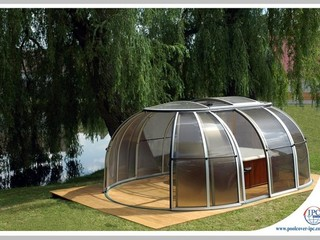 Hot Tub Enclosure  Spa Sunhouse by the lake