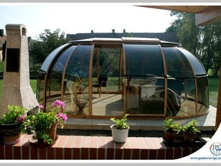 Hot Tub Enclosure Spa Sunhouse - complete your garden