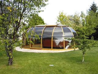 Hot tub enclosure SPA SUHOUSE - best sunroom idea