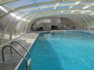 Inside space of pool enclosure Laguna