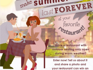 Make summer Last forever - with patio enclosure for your favorite restaurant