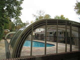 New installations of pool enclosure Laguna
