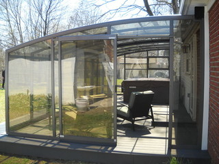 New Sunroom   Patio Enclosure To Cover Hot Tub And Whole Patio