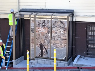 Patio enclosure CORSO - atypical installation for US army