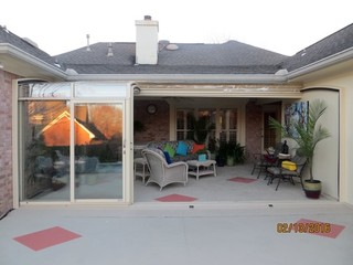 Patio enclosure CORSO - Beautifully complements that patio