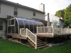 Patio enclosure CORSO entry - a great way how to turn outdoor into indoor