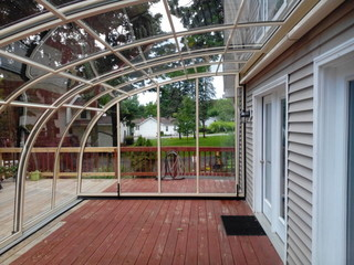 Patio Enclosure CORSO Entry - look from the inside