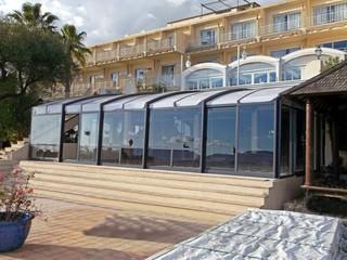 Patio Enclosure CORSO for small hotel