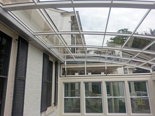 Patio enclosure CORSO for small restaurant veranda