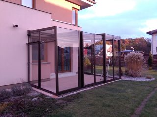 Patio enclosure Corso Glass