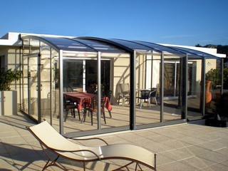 Patio enclosure CORSO Premium - the best sunroom idea