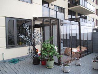 Patio enclosure Corso Premium