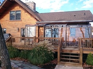 Patio enclosure - sunroom idea CORSO Premium from Pool and Spa Enclosures USA