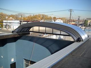 Patio roof-top enclosure ELEGANT for hotel, café, and restaurant