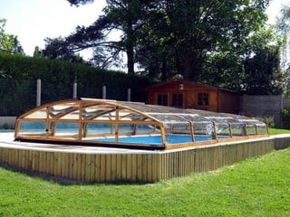 Pool Enclosure Imperia - low line pool cover