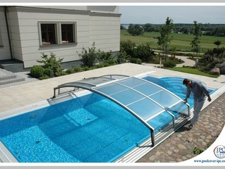 Pool Enclosure Imperia - low line pool enclosure