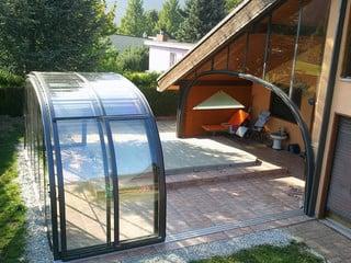 Pool enclosure Laguna for patio and spa