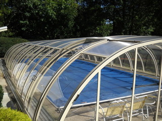 Pool enclosure Tropea - nice and clean solution for you pool