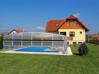 Pool enclosure Venezia - Venezian style high pool cover