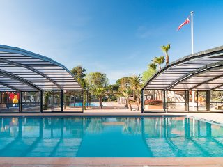 Pool enclosures -  Camping Les Sablons - Portiragnes