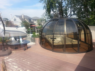 Relax after yachting in Hot Tub Enclosure Spa Sunhouse