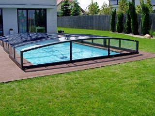 Beau Retractable Swimming Pool Enclosure Viva