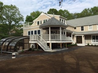 Stylish pool and patio enclosure Style