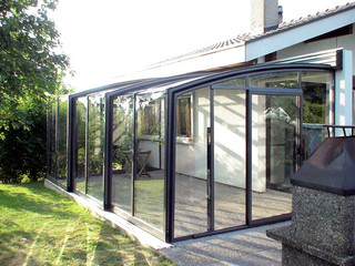 Sunny days are even brighter under patio enclosure CORSO Premium