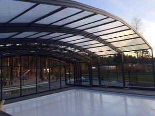 Swimming pool enclosure for Horeca - Netherlands