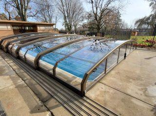 Swimming pool enclosure OCEANIC - low