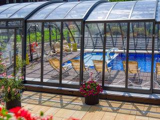 Swimming pool enclosure Ravena