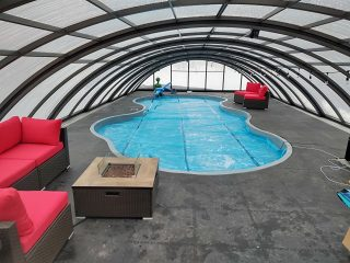 Swimming pool enclosure Universe in South Dakota