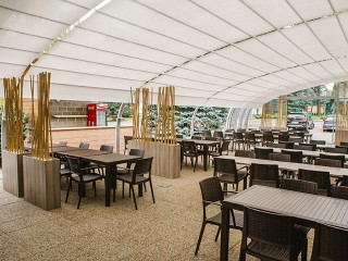 patio enclosures corso horeca galleries retractable patio