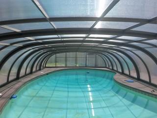 View into pool enclosure Laguna